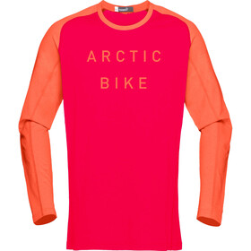 Norrøna Fjørå Equaliser Lightweight Long Sleeve Shirt Men Jester Red/Scarlet Ibis